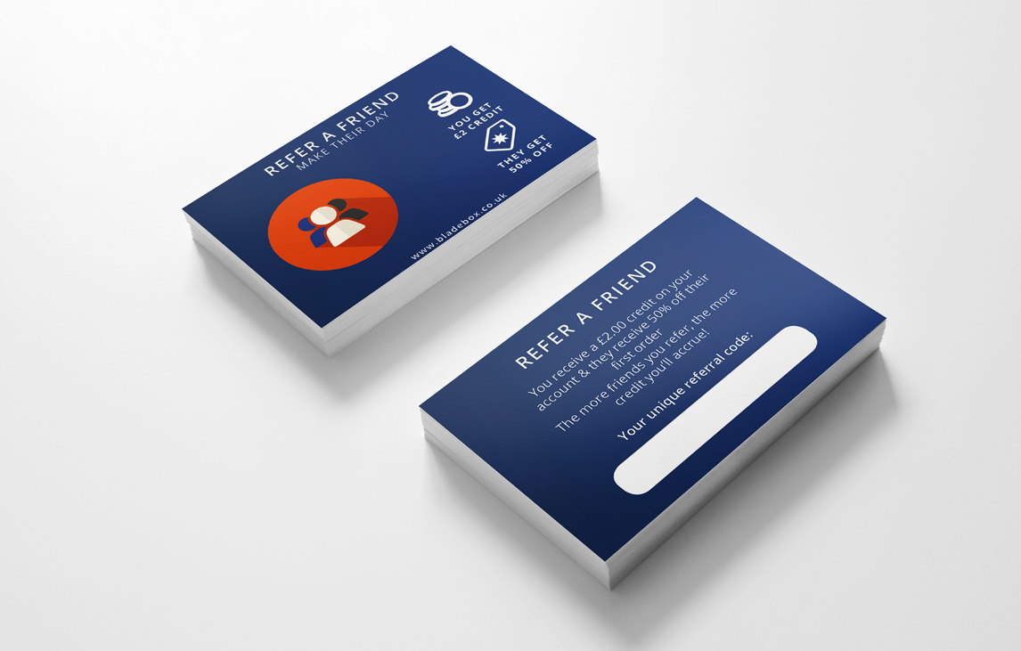 BladeBox Business Card Design - By Flavour Marketing in Bournemouth
