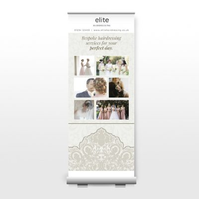 Flavour Marketing Roller Banner Design