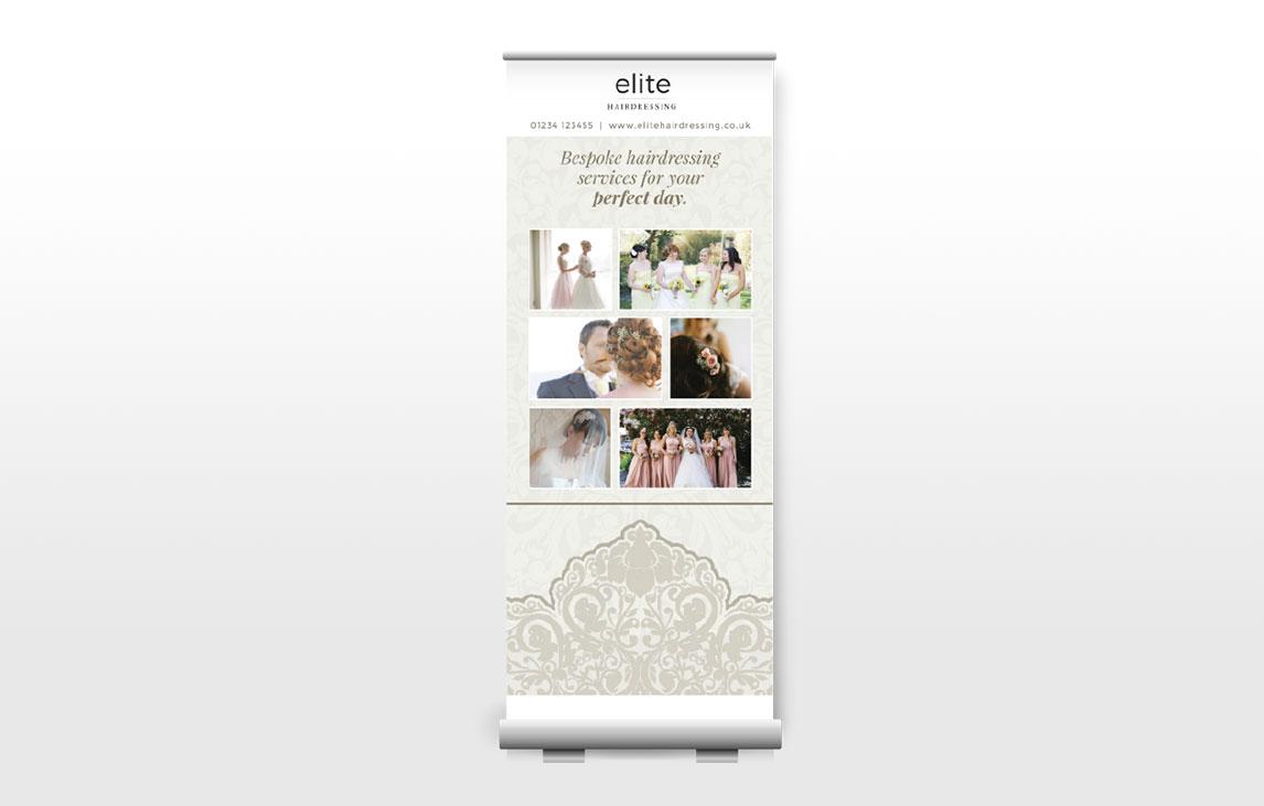 Flavour Marketing Roller Banner Design